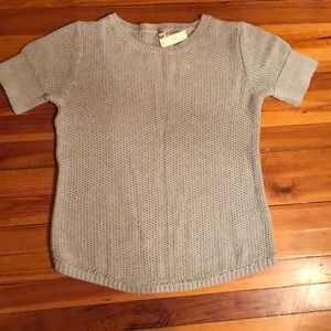 NWT Gap knit short sleeve sweater